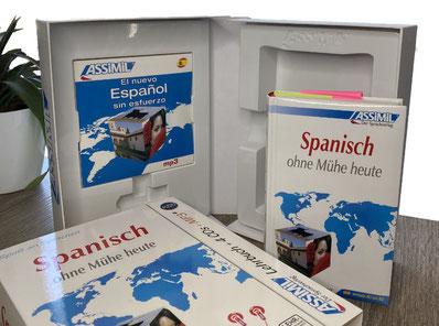 Assimil Set Spanisch ohne Mühe heute