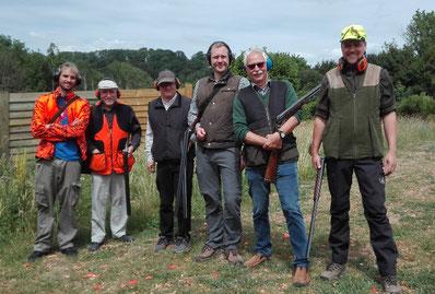 zufriedene Schützen der Bezirksgruppe Hochsauerland-Soest