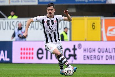 Ersin Zehir - Mittelfeldspieler bleibt bis 2023 - Foto: PB