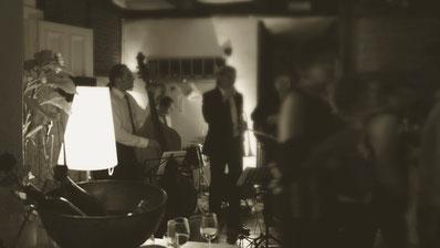 Jazz zum Empfang bei der Hochzeit