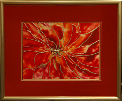 Tendrils - Original Wax Painting - by Anne Berendt
