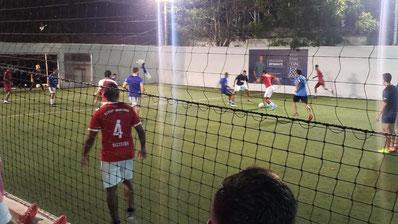 9 gegen 9 in Kolumbien
