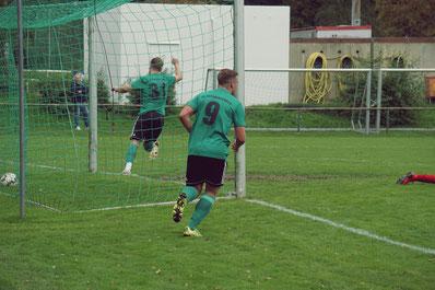 Torschütze Oertel und Topscorer Möller