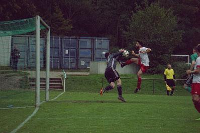 SC-Keeper Moritz Leibold in Aktion