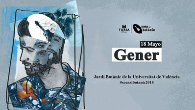 Botanischer garten Valencia Musik