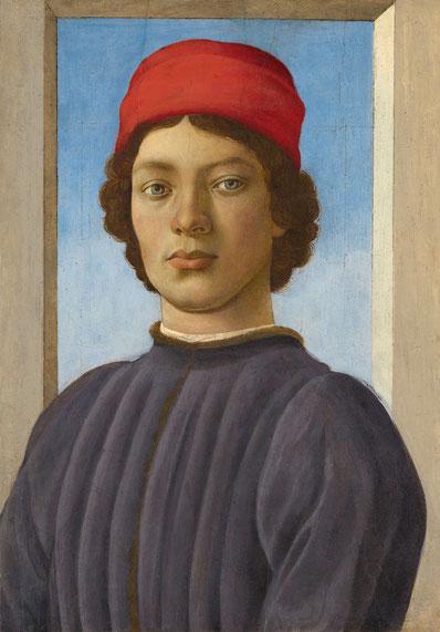 Filippino Lippi, Bildnis eines jungen Mannes