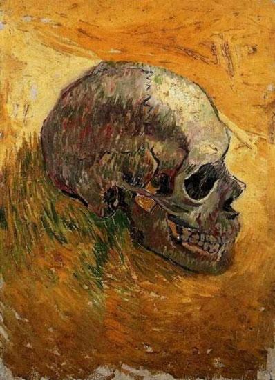 """V. Van Gogh, """"Teschio"""" (1887)"""