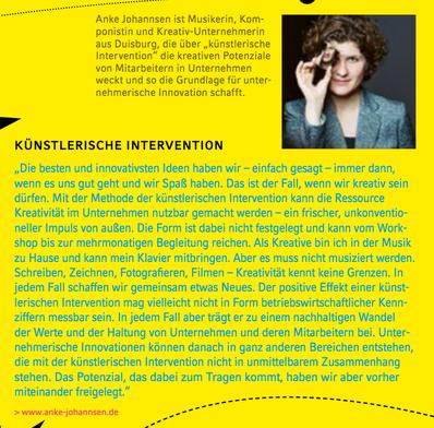 """aus dem Magazin """"prospect"""" der NRW Bank"""