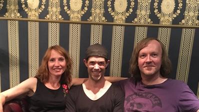 Macher mit Stimme von SEVEN: Natascha Schmitt, Bastian Sierich, Mark Brauneins