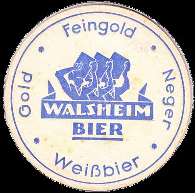 Walsheim Bierdeckel