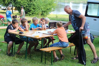 Vom 03.-05.07.2015 veranstaltete der SV Tresenwald das Hockeycamp an den Lübschützer Teichen.