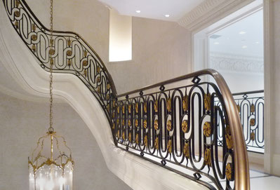 La Forge De Style - Bronze railing - Los Angeles