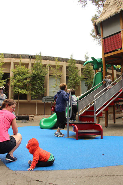 San Diego Zoo Discovery Playground - Travel with a baby