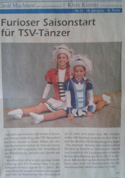 Amtsblatt 11.2014 - FTT Ortrand