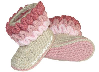 Cómo tejer un bolso a crochet con ondas en relieve
