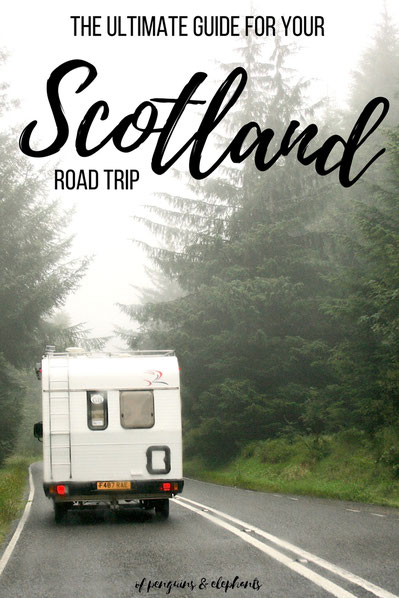 Scotland UK ofpenguinsandelephants of penguins & elephants Road Trip itinerary