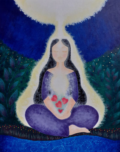 Mandala Méditation sous un Arbre