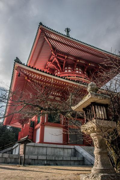Konpon Daito Pagoda sul Monte Koya