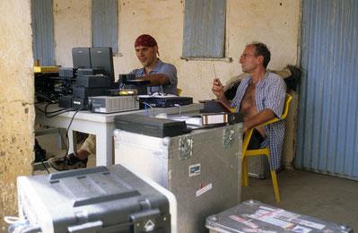 Tschad/Darfur 2003 (Schnitt mit ARD-Techniker Michael Kraus)