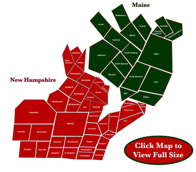 Delivery Map Christmas Tree Farm