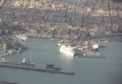Der Hafen von Catania