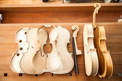 Violins by Sandrine Louvet