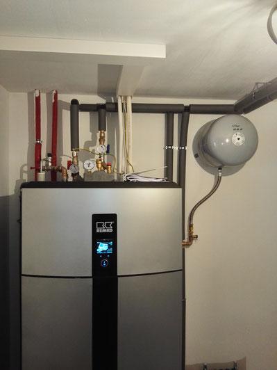Luftwärmepumpe mit Speicher