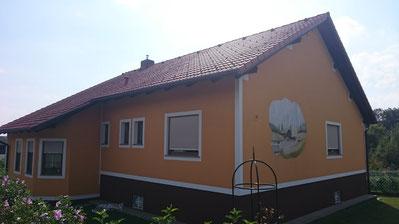 Vorher, ohne Schmiedeeisen-Fenstergitter
