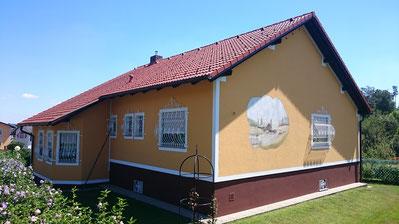 Nachher, Schmiedeeisen-Fenstergitter
