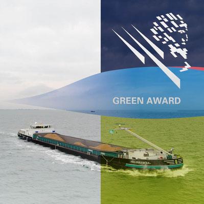 Mbs Philipskercke II is de Gouden Green Award toegekend