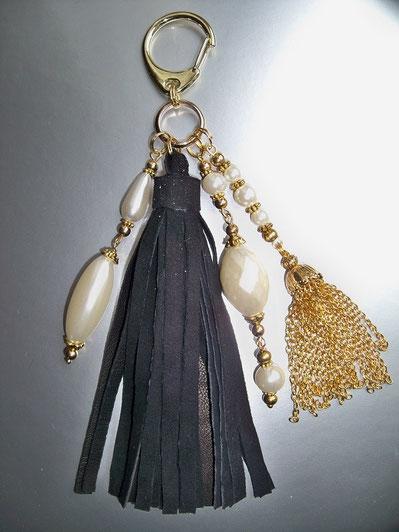 détail du bijou de sac