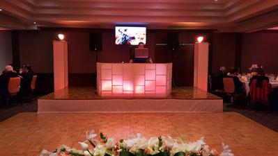 Montaje dj para bodas BASICO hotel Intercontinental Ciudad de México.