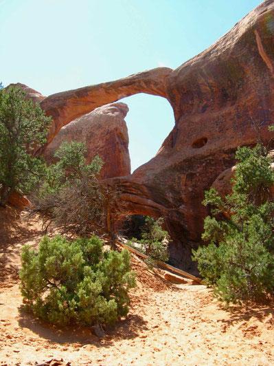 Wanderung zum Double-O-Arch, USA, Amerika