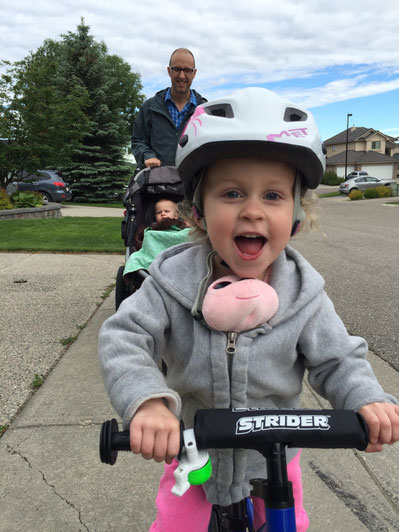 Get Your Child to Ride a Balance Bike With These 8 Tips. Read more at www.FamilyCanTravel.com