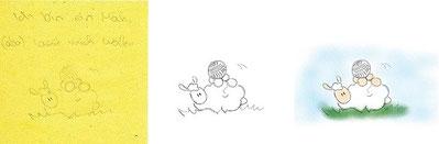 Schafswollen (Skizze bis Kolo)