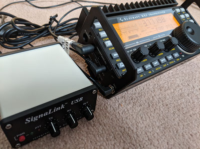 Elecraft KX3 with Signalink