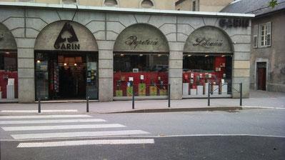 Librairie Garin Chambéry