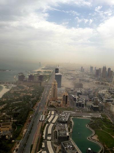 Sandsturm in Dubai