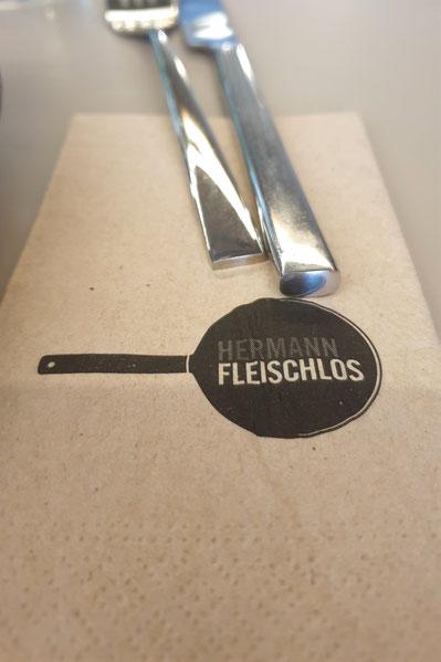 Tischset Hermann Fleischlos