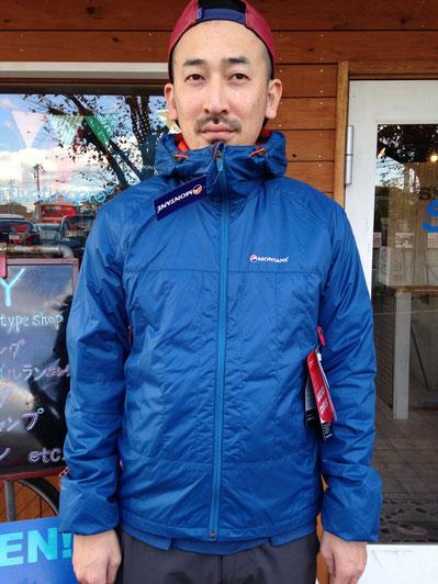 MONTANE(モンテイン) PRISM JACKET(Moroccan Blue) ¥20,520(税込) ※残りSサイズ1点のみ