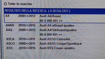 Culla telaio motore Audi A4 S4 A5 RS5