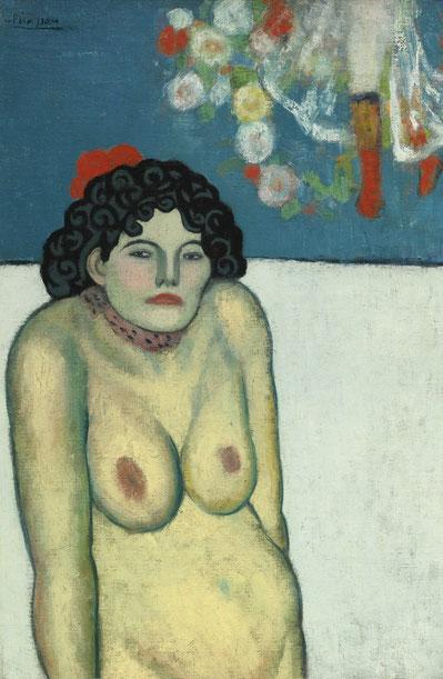 Певица кабаре - самые дорогие картины Пикассо