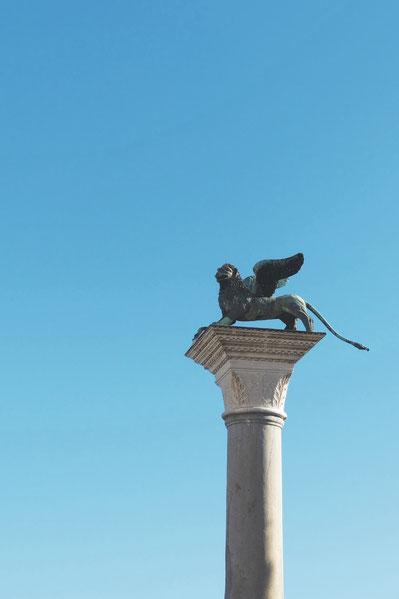 le symbole de Venise: le lion ailé