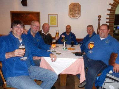 Skatclub 'Die Kiebitze' auf Vatertagstour