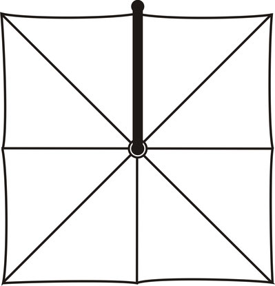 Mezzo quadratschirm ampelschirm mezzo von may sonnenschirme