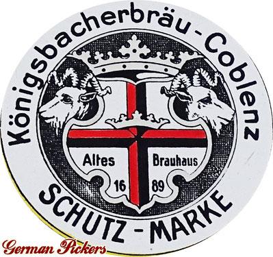 Königsbacher Bräu Coblenz / Koblenz Logo - Altes Brauhaus