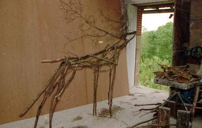 Florence de Ponthaud-Neyrat - Le grand cerf 2000