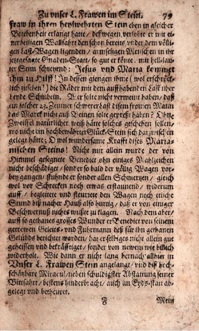© Bayrische Staatsbibliothek:  Dominik Glinck: «Lapis probatus angularis Mariae» (Pruntrut 1693)