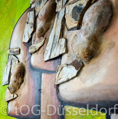 Erdwächter, Earth Guardians, J.H. BLOCK, Künstler, artist, Sardinien, Mühlheim an der Ruhr, tOG, take OFF GALLERY, Galerie Düsseldorf, Duesseldorf, Kunstraum, moderne Kunst