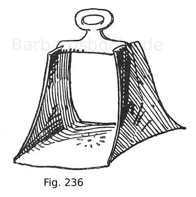 Fig. 236. Arabischer Steigbügel aus Silber. Mitte 16. Jahrhundert.